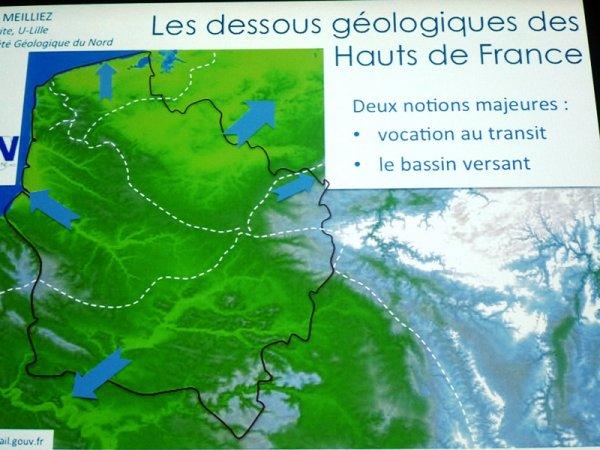 Les dessous géologiques des Hauts de France