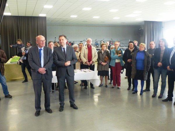 Dames et seigneurs de Santes : inauguration de l'exposition