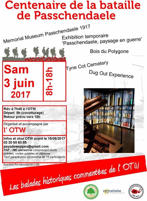 L'office de Tourisme du Pays de Weppes à Passchendaele