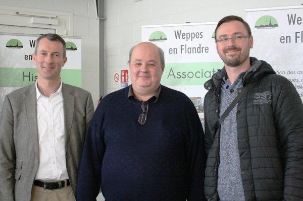 Les membres de Weppes en Flandre ont rendu visite aux dames et seigneurs de Santes