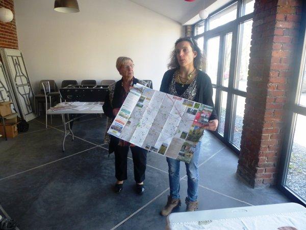 L'office de tourisme du Pays de Weppes a présenté sa nouvelle carte touristique