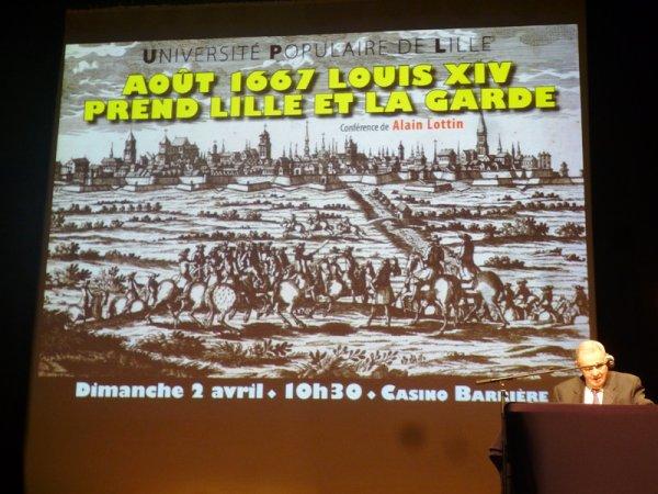 Août 1667 : Louis XIV prend Lille et la garde !