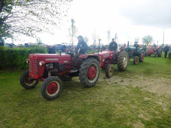 Ce week-end, c'était la fête de printemps de Tracteurs en Weppes