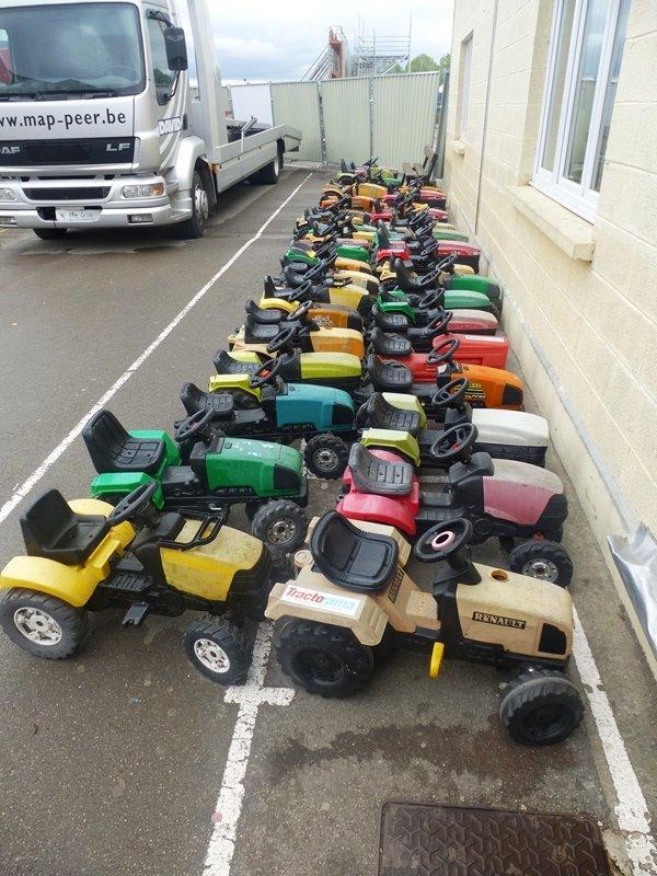 La fête de printemps de Tracteurs en Weppes, c'était aussi pour les enfants !