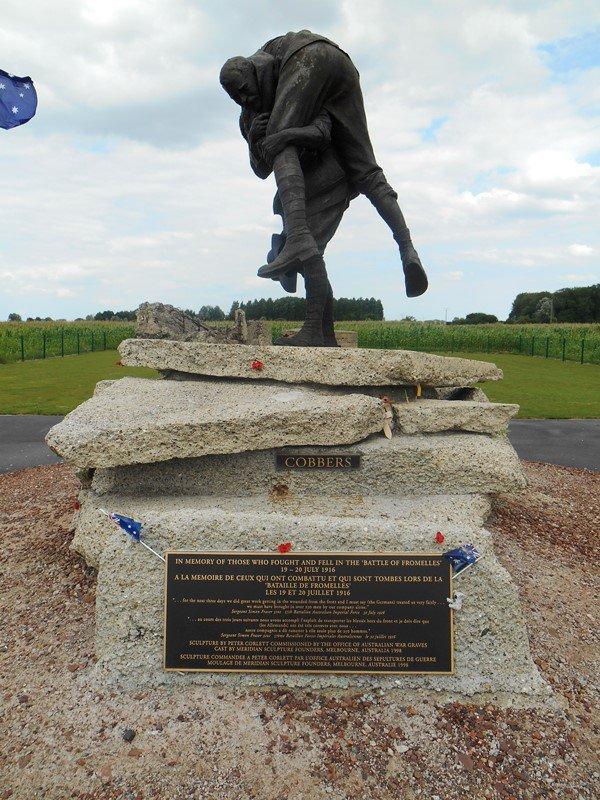 La statue des Cobbers : son histoire