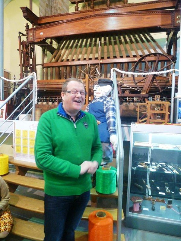 Weppes en Flandre a visité le musée de la Rubanerie de Comines Belgique