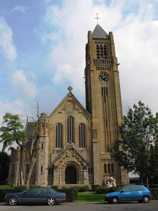 Les pierres ont dansé ce week-end dans l'église de Warneton Belgique