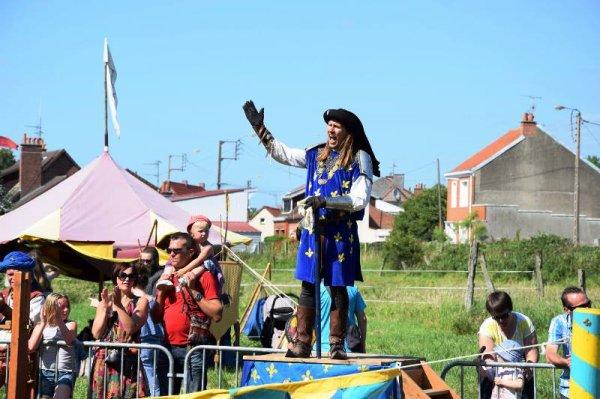 Ce dimanche, c'était l'attaque médiévale d'Arkeos à Douai, un reportage de notre ami Bernard Smagge de Phalempin