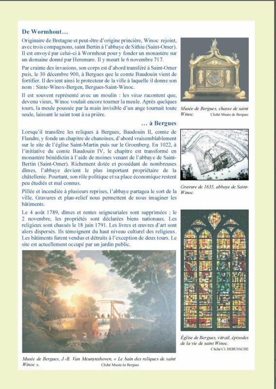 Saint Winoc : le saint, l'abbaye, la ville.