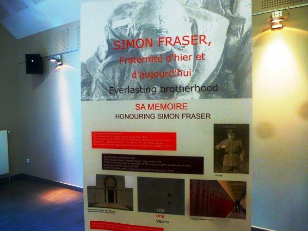 Simon Fraser, fraternité d'hier et d'aujourd'hui