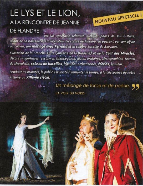 Le Lys et le Lion, à la rencontre de Jeanne de Flandre