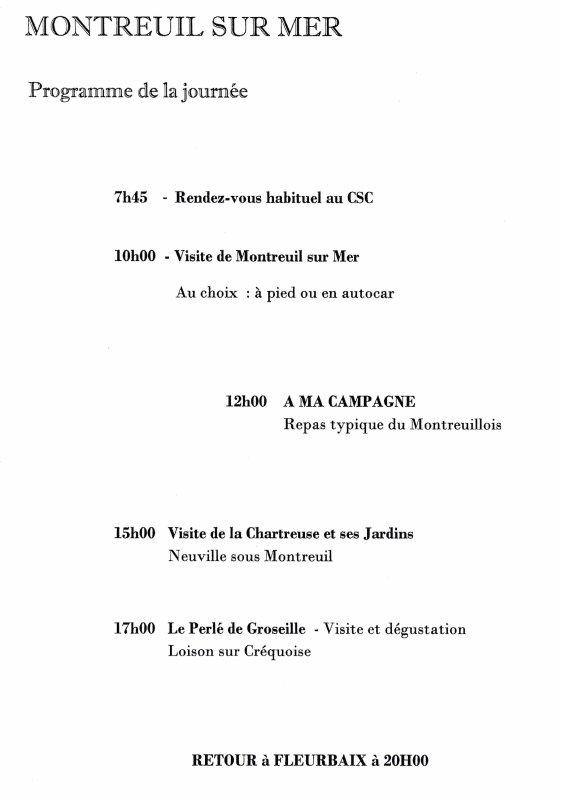 Fleurbaix Patrimoine vous convie à son voyage à Montreuil-sur-Mer