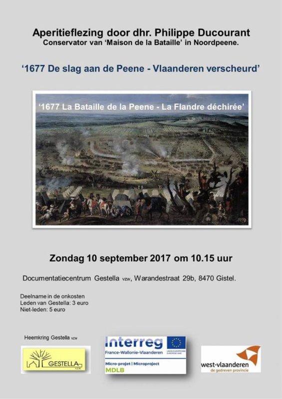 La maison de la bataille de la Peene à Noordpeene fait parler d'elle en Europe !