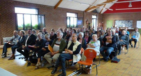 Les membres de Weppes en Flandre se sont réunis pour préparer le Forum des Weppes du dimanche 8 octobre à Ennetières-en-Weppes (photos Alain-Pierre Loyez)