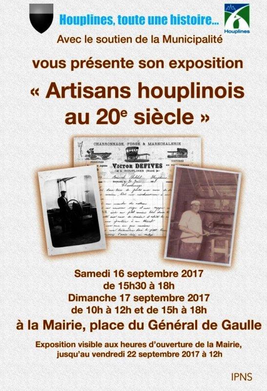 Les artisans d'Houplines au 20ème siècle