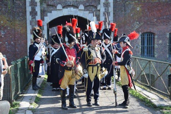 Le week-end dernier, c'était bivouac napoléonien au fort de Seclin (Photos Bernard Smagge)