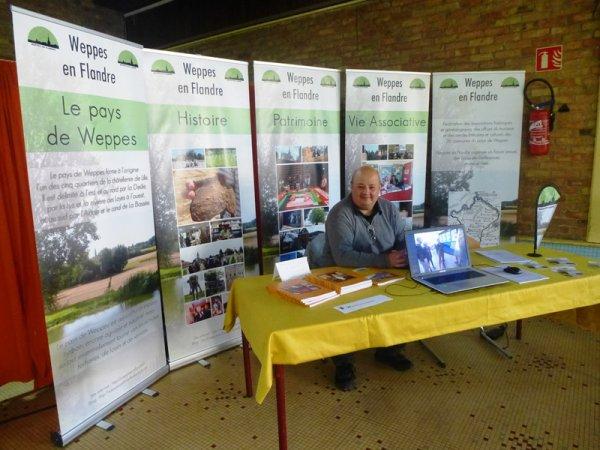 Ce dimanche, Weppes en Flandre était présent au forum des associations de Lomme.