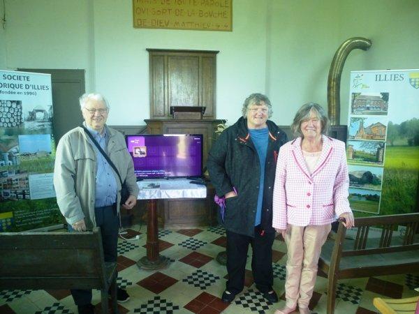 Le temple protestant de Ligny-le-Grand au programme des journées européennes du patrimoine à Illies