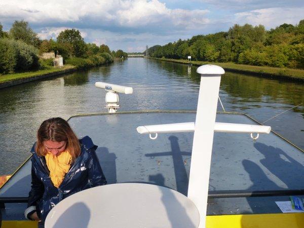 A Don, les journées européennes du patrimoine, c'était au bord et sur la Deûle, avec le cercle historique de Don et les Voies navigables de France.