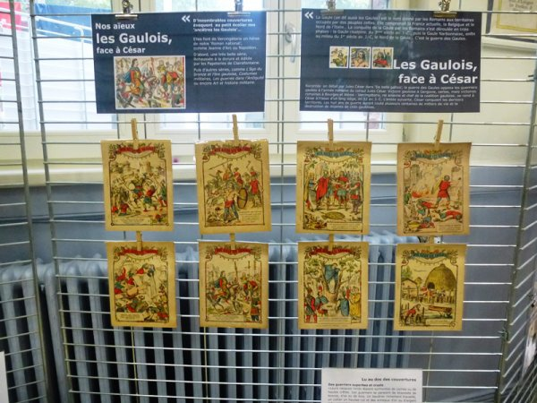 Il y a cent ans, les couvertures des cahiers d'écoliers racontaient l'histoire de France.