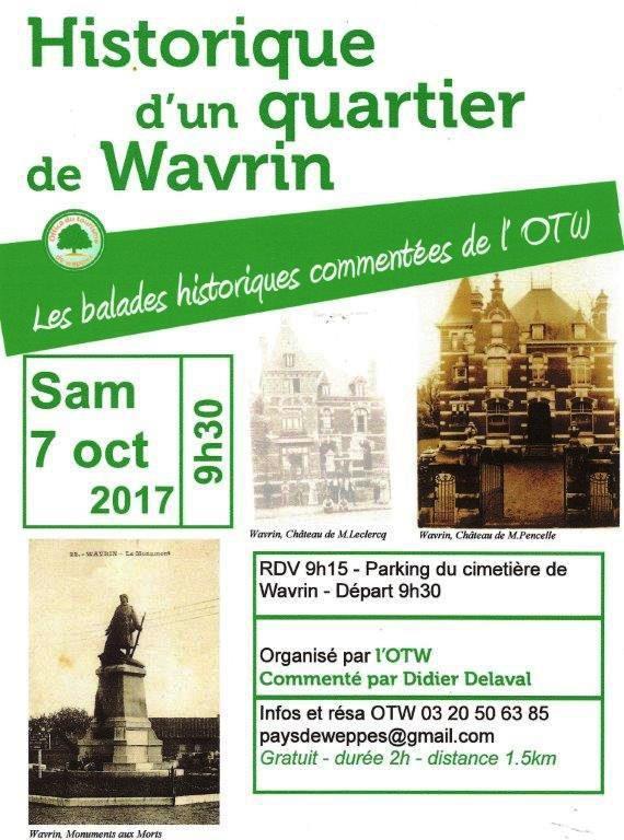 Histoire d'un quartier de Wavrin