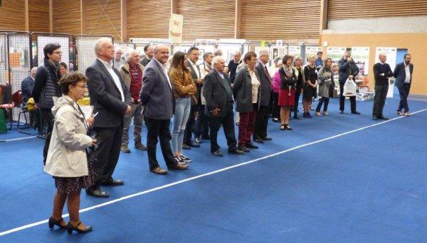 Les débuts du Forum des Weppes 2017 à Enentières-en-Weppes dans le viseur d'Alain-Pierre Loyez