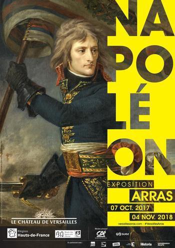 Napoléon, avant d'aller s'exposer au musée des Beaux-Arts d'Arras, est passé par Armentières