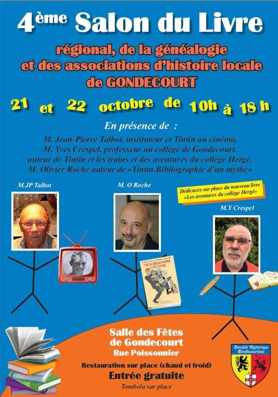Weppes en Flandre sera présent comme exposant au salon du livre d'histoire régionale de Gondecourt