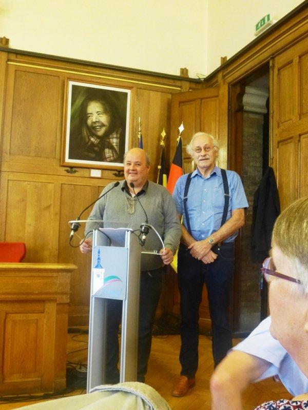 Notre ami Robert Philippo a évoqué l'église d'Englos et la mémoire des Gueux au congrès de la fédération des sociétés savantes du Nord de la France