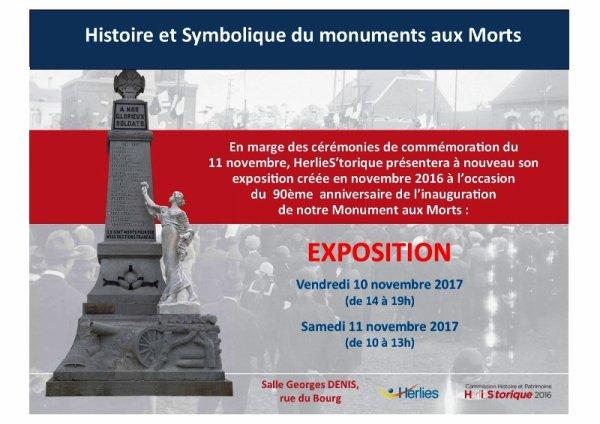Histoire et symbolique du monument aux morts d'Herlies