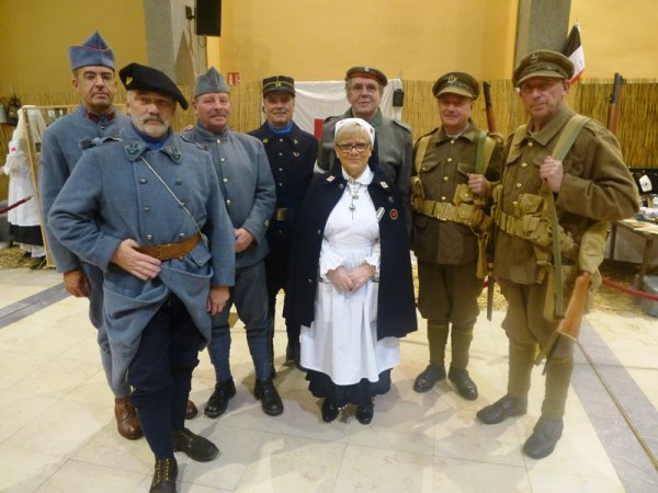 L'année 1917 commémorée à Lomme
