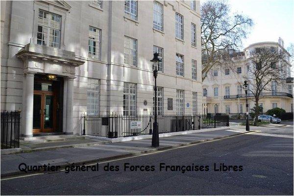 Une délégation de Pérenchies sur les pas du général de Gaulle à Londres (Compte-rendu de Jean-Pierre Compère, de Si Pérenchies m'était contée)