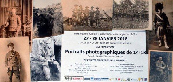 Portraits photographiques de 14-18