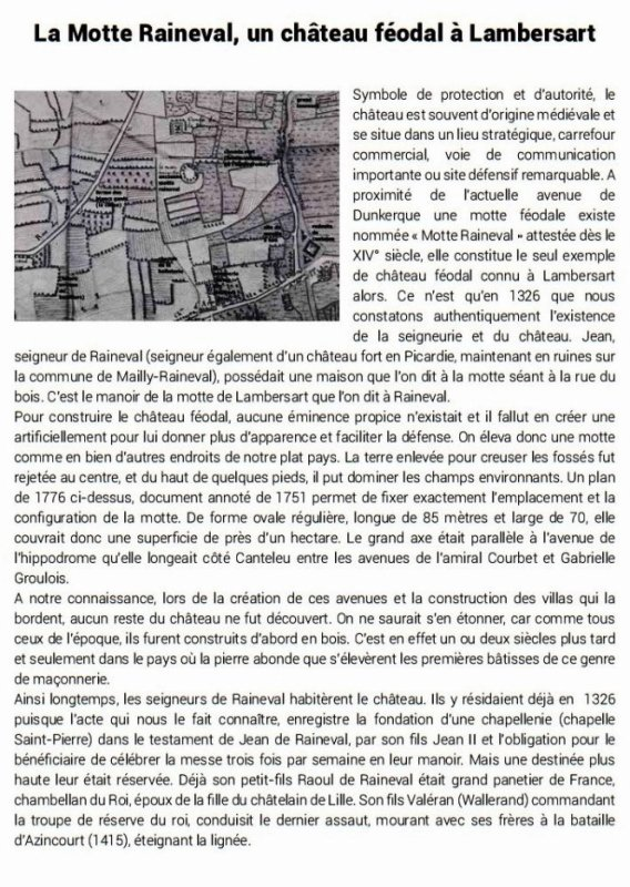 Le Bulletin historique de Lambersart