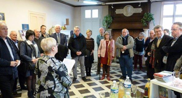 La cérémonie de voeux de l'office de tourisme du Pays de Weppes