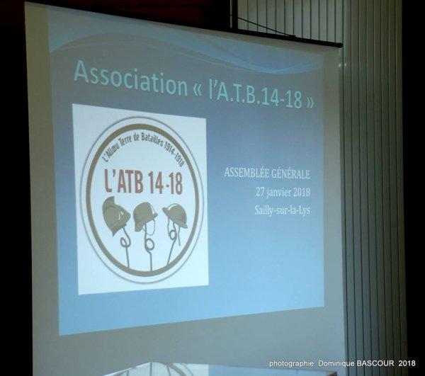 Assemblée générale de l'ATB 14-18 (reportage de Dominique Bascour)