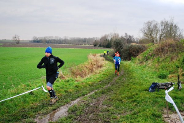 La crapahute des Bas Champs à Herlies (source Frits Wijnen, photos Herlies Rando Run)