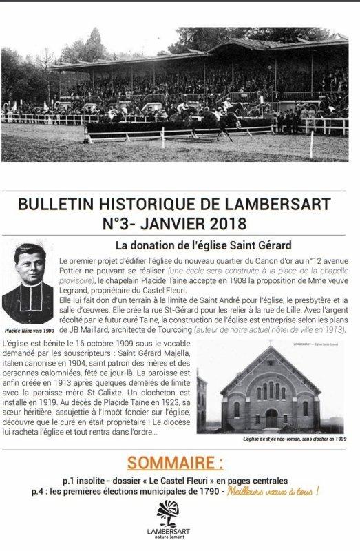 Histoire de Lambersart n° 3