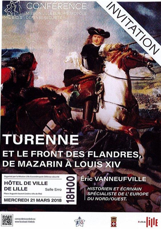 Turenne et le front des Flandres, de Mazarin à Louis XIV