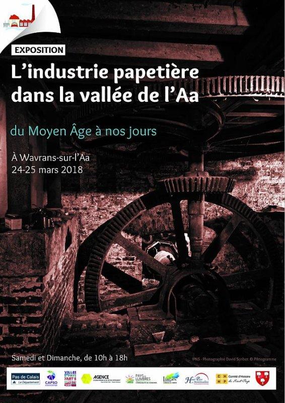 L'industrie papetière dans la vallée de l'Aa du Moyen Age à nos jours