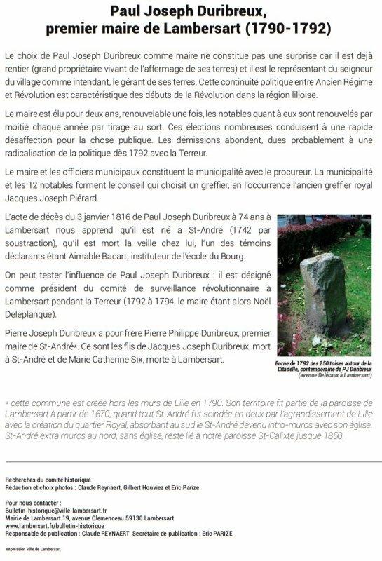 Le bulletin historique de Lambersart n° 4