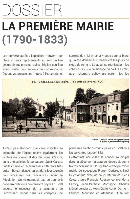 Le Bulletin historique n° 5 de Lambersart