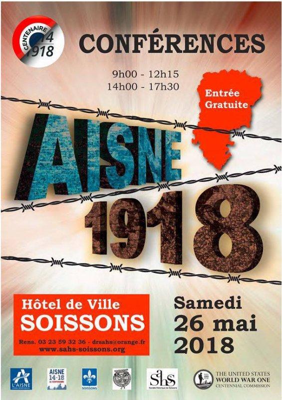Dans l'Aisne aussi, on se souvient de l'année 1918
