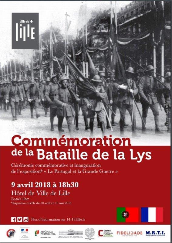 Les Portugais dans la bataille de la Lys