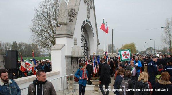 Centenaire de la bataille de la Lys au cimetière portugais de Richebourg