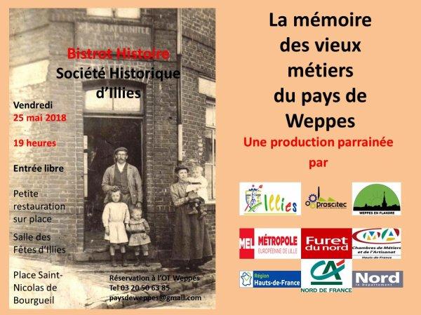 La mémoire des vieux métiers du pays de Weppes à Illies