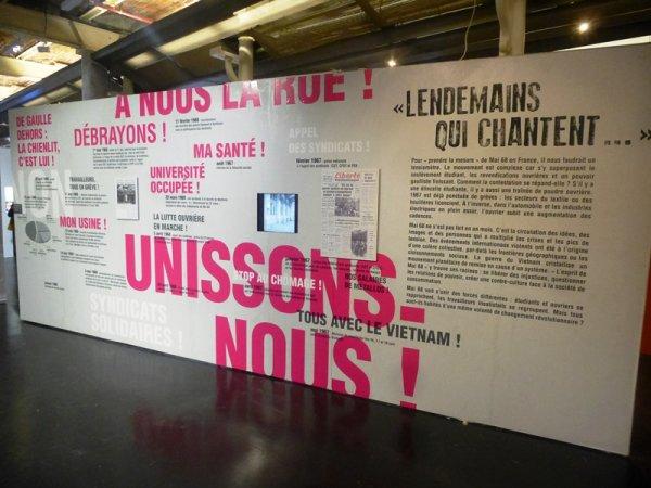 Les Archives nationales du Monde du Travail à Roubaix reconstituent Mai 68 à l'usine