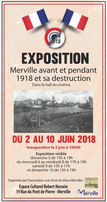 Merville pendant la Grande Guerre