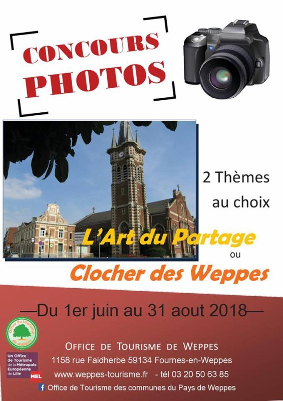 L'office de tourisme du pays de Weppes organise un concours de photos estival