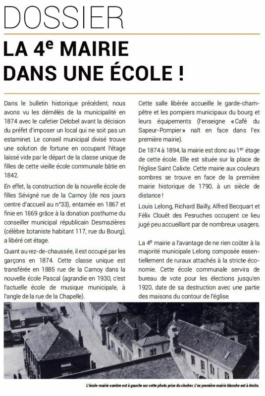 Le Bulletin historique de Lambersart n° 7